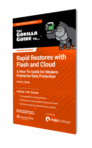 The Gorilla Guide To…® Rapid Restores with Flash and Cloud