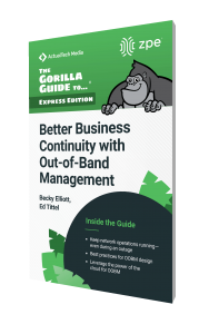 Better Business Continuity with Out-of-Band Management