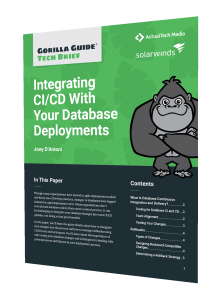 Integrating CI/CD With Your Database Deployments