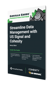 The Gorilla Guide To…® Streamline Data Management with US Signal and Cohesity, Foundation Edition
