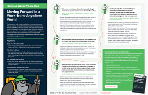 The Gorilla Guide To…® Moving Forward in a Work-from-Anywhere World, Trail Map Edition