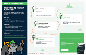 The Gorilla Guide To…® Modernizing Backup Operations Trail Map